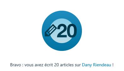 20 ARTICLES