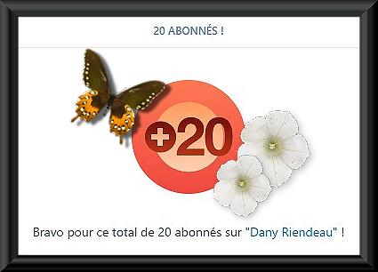 20 Abonnés WP (PSP2019)